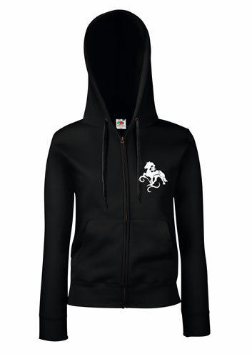 size 40 b1625 5fded Damen Sweatshirt Jacke mit Hibiskustölter