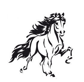 Isländer Isi Pferd Islanpferd  Autoaufkleber Sticker Aufkleber  Tölter