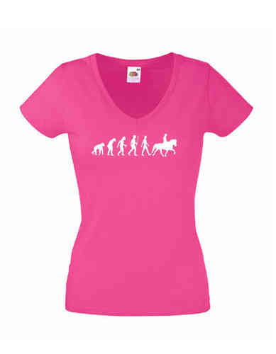 Damen EVOLUTION T-Shirt mit Islandpferd
