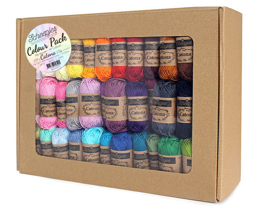 Scheepjeswol CATONA COLOUR PACK 109 X 10G